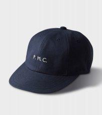 画像1: PHIGVEL [フィグベル] TWILL CAP [NAVY] (1)