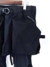 画像3: COMFY OUTDOOR GARMENT [コンフィーアウトドアガーメント] CORDURA KILTIC PANTS [BLACK] (3)