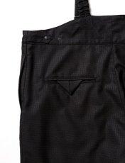 画像4: Sasquatchfabrix.  [サスクワッチファブリックス] SUSPENDER SLACKS [BLACK]  (4)