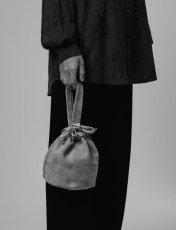 画像2: Sasquatchfabrix.  [サスクワッチファブリックス] HEXAGRAM LEATHER BAG [BLACK]  (2)