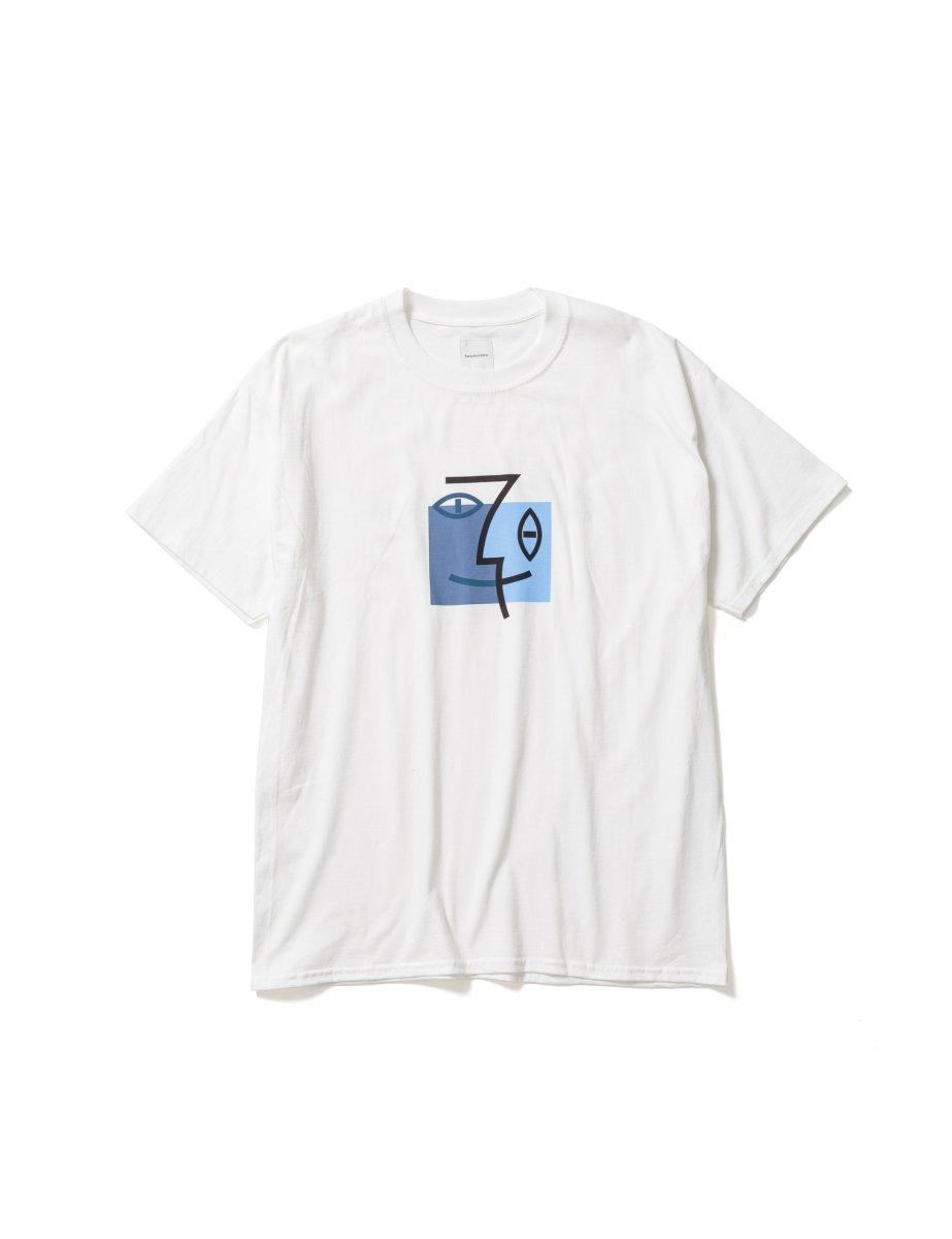 """画像1: Sasquatchfabrix. [サスクワッチファブリックス]""""PICASSO OS"""" PRINT TEE[WHITE]  (1)"""