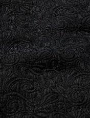 画像4: Sasquatchfabrix. [サスクワッチファブリックス] BOTANICAL SW JACKET [BLACK]  (4)