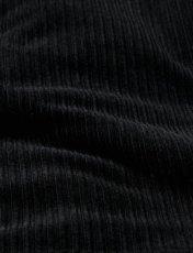 画像3: Sasquatchfabrix. [サスクワッチファブリックス] CORDUROY RANCH COAT [BLACK]  (3)