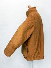画像5: URU [ウル] ZIP UP BLOUSON [Camel] (5)