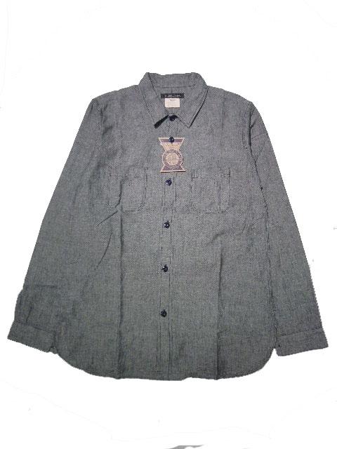 画像1: THE WYLER CLOTHING CO. <ザ ワイラー クロージング> / PHILIPS SHITS [NAVY] (1)