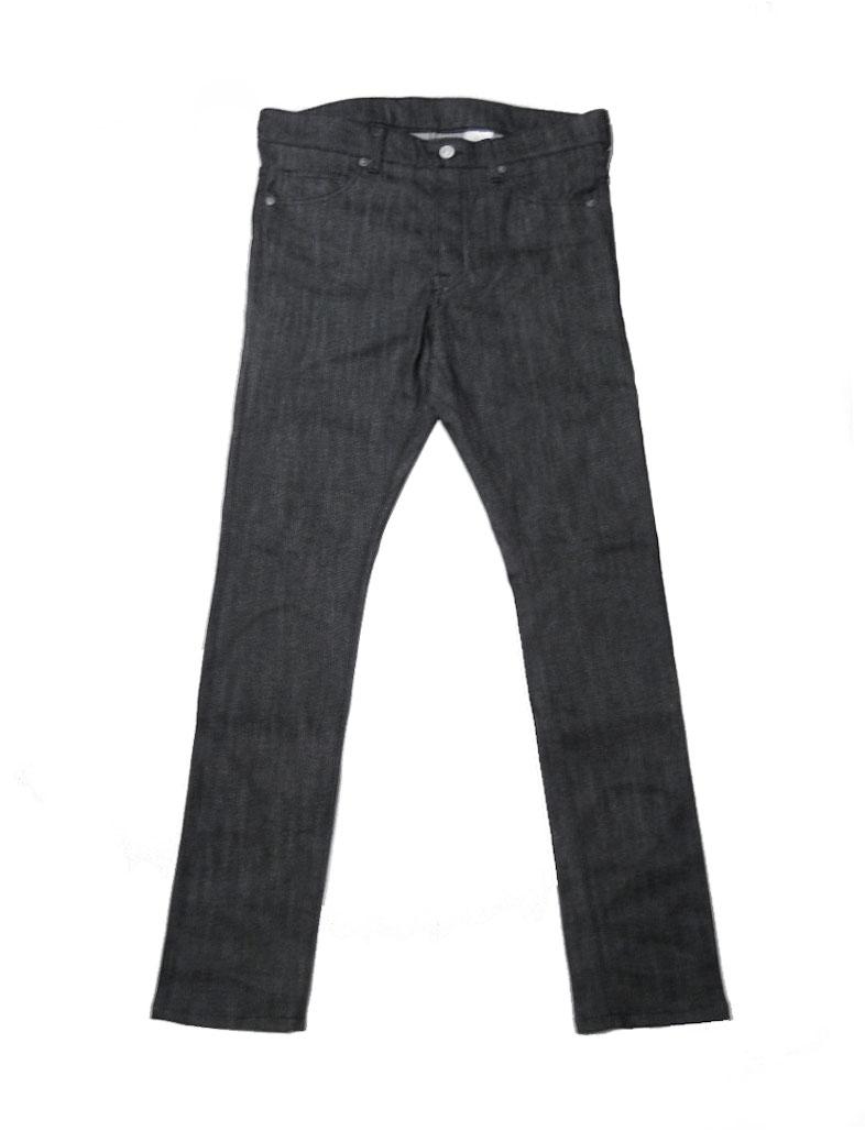 画像1: FROM THE GARRET [フロムザギャレット] SLIM DENIM PANTS [BLACK] (1)