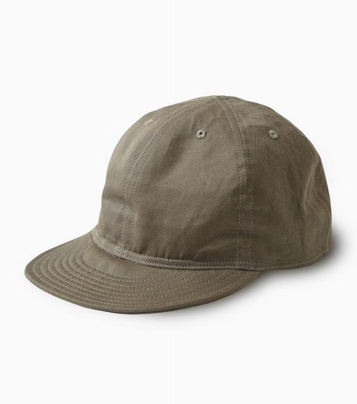 画像1: PHIGVEL [フィグベル] MECHANIC CAP [OLIVE] (1)