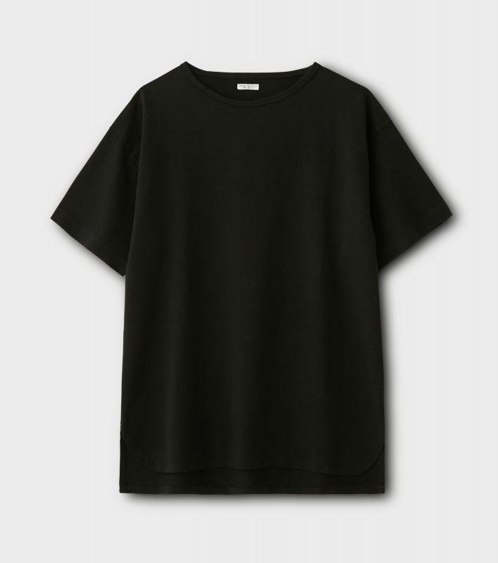 画像1: PHIGVEL [フィグベル] OLD ATHLETIC SS TOP [BLACK] (1)
