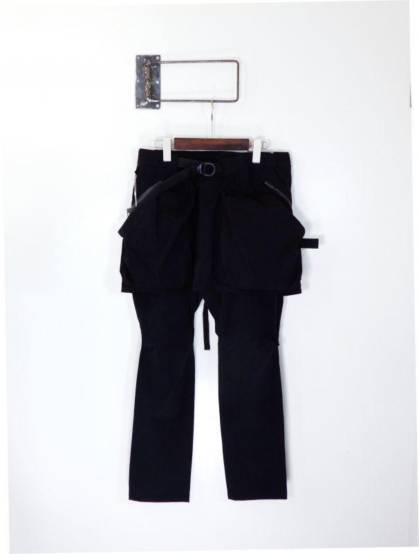 画像1: COMFY OUTDOOR GARMENT [コンフィーアウトドアガーメント] CORDURA KILTIC PANTS [BLACK] (1)
