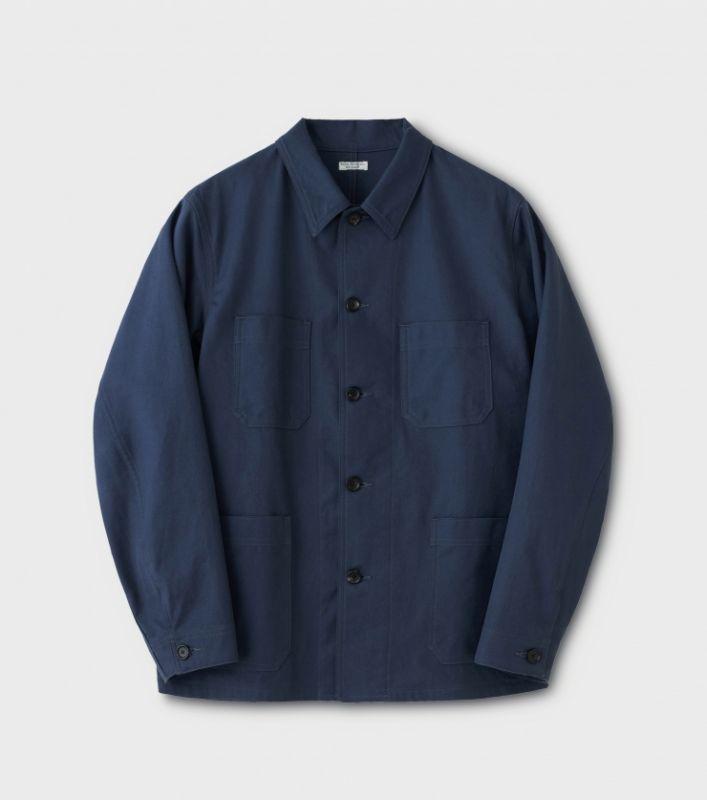 画像1: PHIGVEL [フィグベル] French Work Jacket [FRENCH NAVY] (1)
