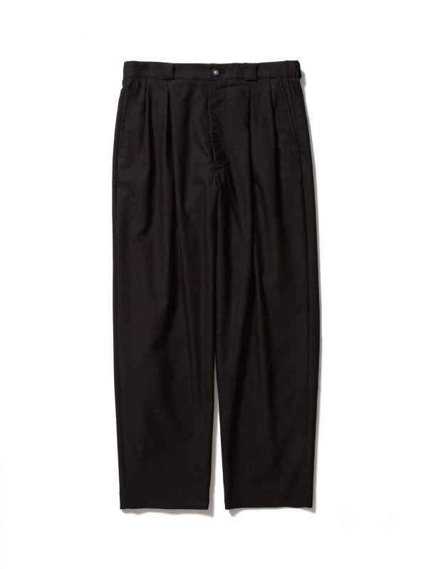 画像1: Sasquatchfabrix.  [サスクワッチファブリックス] KUNG-FU TAPERED PANTS [BLACK]  (1)