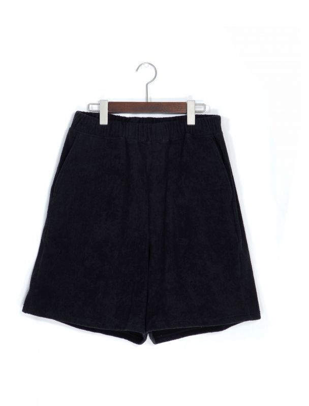 画像1: URU [ウル] EASY SHORT PANTS [BLACK]  (1)