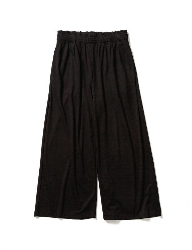 画像1: Sasquatchfabrix.  [サスクワッチファブリックス] EASY HAKAMA PANTS [BLACK]  (1)