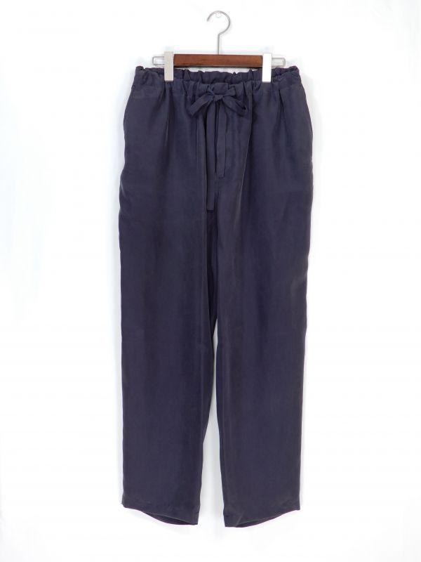 画像1: URU [ウル] EASY  PANTS [NAVY]  (1)