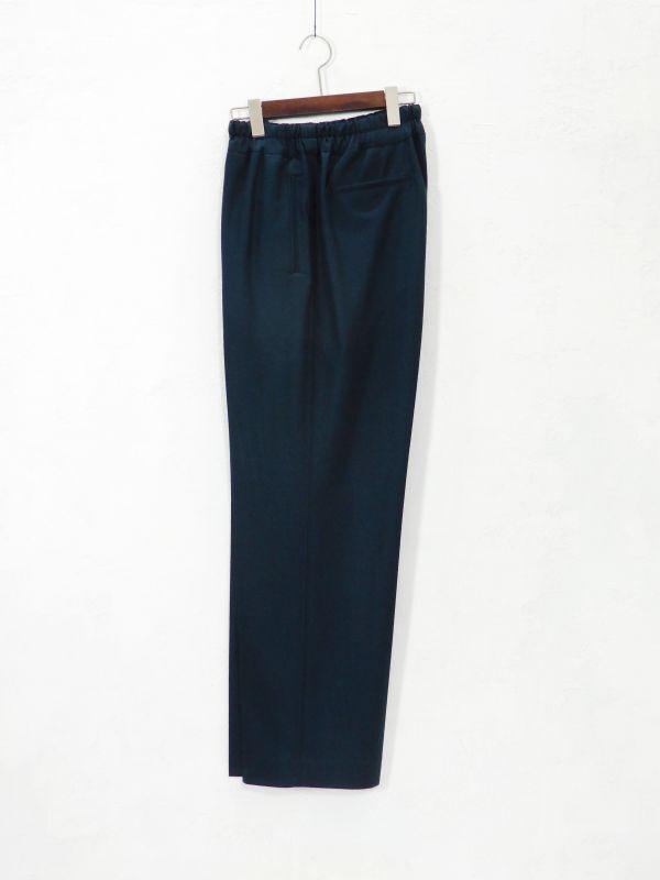 画像1: URU [ウル] EASY PANTS [D.GREEN]  (1)