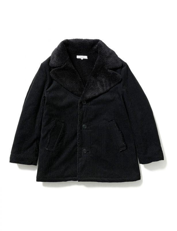 画像1: Sasquatchfabrix. [サスクワッチファブリックス] CORDUROY RANCH COAT [BLACK]  (1)