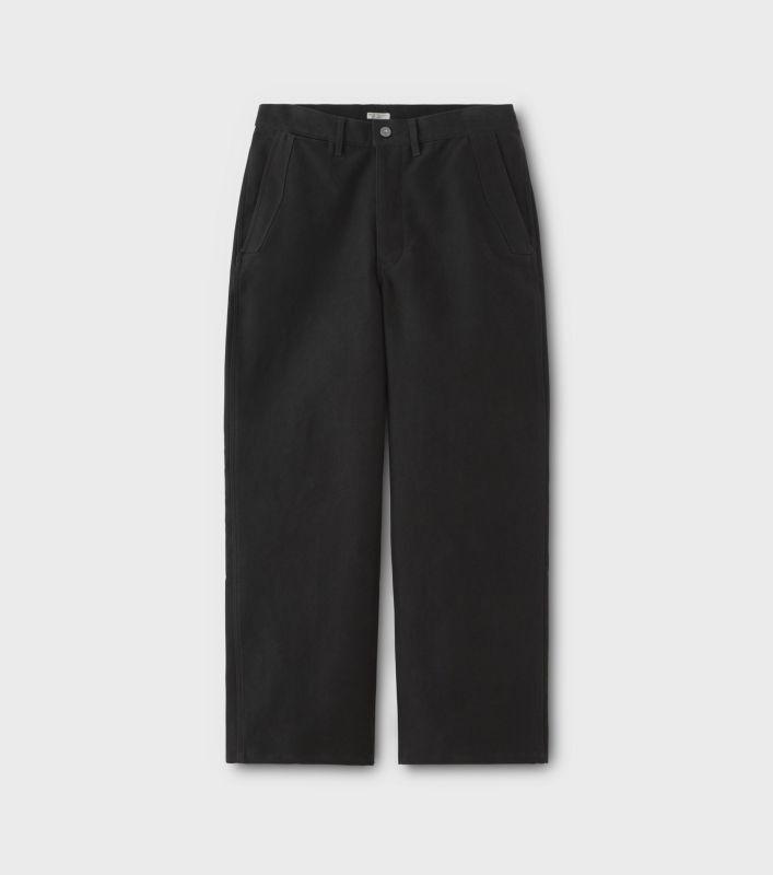 画像1: PHIGVEL [フィグベル] Moleskin Utility Trousers [Dust Black] (1)